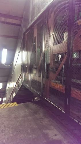 Catten Elevator void protection panels - Melbourne Underground Stations - City Loop - UTC Chubb Independent Lifts 2