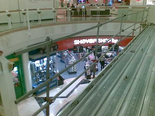 Handrail for Eastland Shopping Centre