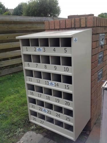 Mailbox after install