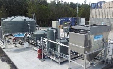 Water Seperation plant