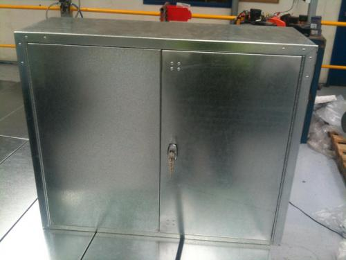 Lockable Cabinet Front View