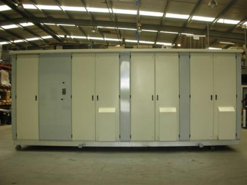 Substation Cabinet - Front view
