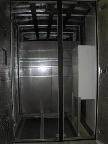 Substation Cabinet - Inside view