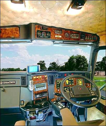 kenworth interior